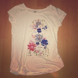 Graphic girls t-shirt from old navy